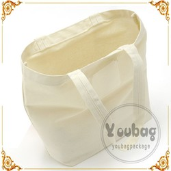 Alibaba China Shopping Bag Plain White Cotton Bag