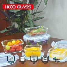 lock n lock food storage containers/glass storage box/Kitchen storage