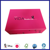 Fake Book Box Shape Storage Box with Lip and Cover and Customized Printing