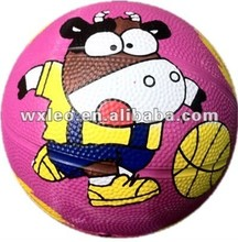 official Size 7 Rubber Made Basketball