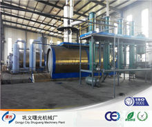10 tons waste tyre pyrolysis equipment