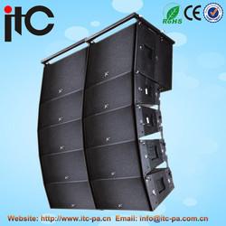 China popular active speaker box line array sound system