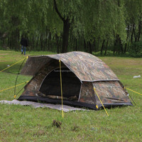 OEM SINGLE TEN2015 HOT SALE OXFORD CLOTH OR NYLOON MILITARY GREEN OR CAMO CLAASICAL DESIGN TENT FRO CAMPING OR HIKING