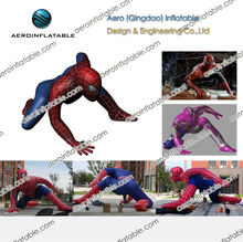 Inflatable spider-man advertising inflatable film characters / advertising cartoon