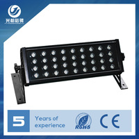 zhongshan factory manufacture ip65 commercial rgb led outdoor flood light 36w 100w