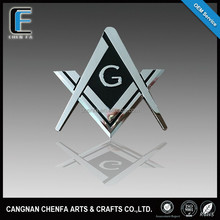 2015 New Fashion ABS plasitc chrome emblem Car logo badge