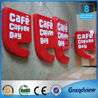 advertising formed cola signboard light box