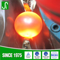 New chemical component and high hareness forged grinding steel ball