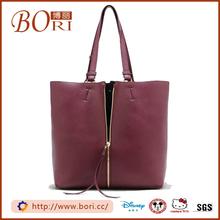 Fashion red suede handbag