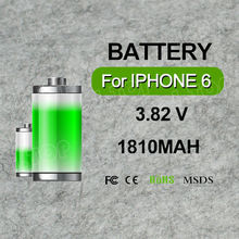 Manufacturer Mobile Phone Battery For iPhone 6 Battery For Apple Battery