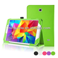 2014 New Style Slim Flip Stand Leather Cover Case For Samsung Galaxy Tab 4 8.0 T330