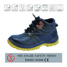slip resistant steel toe industrial working shoes for mining industry NO.9081