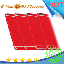 Red color housing for iphone 6 color conversion kit housing for iphone 6