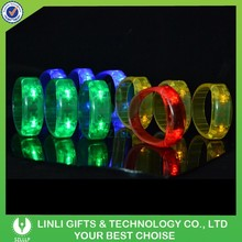 Supply Night Club Led Colorful Flashing Bangle