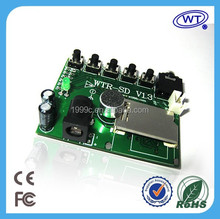 Voice recorder chip ic for telephone record