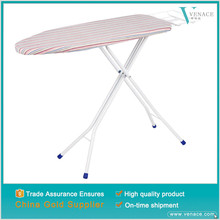 Mini electric wooden ironing board holder folding chair storage cabinet with electrical socket