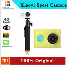 1080P xiaoyi Travel sport camera FHD WIFI Bluetooth 16MP ambarella waterproof mini dv cam stand version xiaomi yi action camera