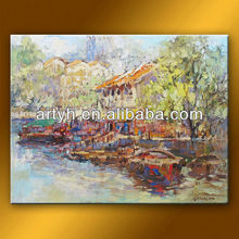 Hand painted 2013 new art wall scroll painting on canvas art for sale