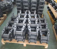 mini excavator steel track excavator undercarriage parts PC30