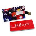 Delgado 32gb 64gb flash drive tarjeta de visita personalizado