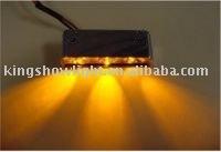 LED Light Pod, 3 LEDs - 12vDC LED tail Light