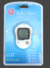China best supplier of accuracy glucometer with glucometer strips for clinical hospital/household use