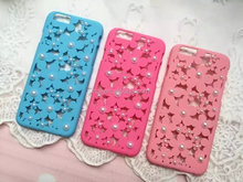 Best selling trendy style plain mobile phone case with pearl for 2015