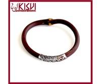 China wholesale new design 925 Tai silver kit natural rattan bracelet, Caulis Spatholobi bangle