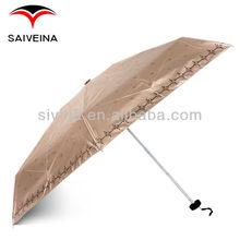 Umbrella Chocolate Anti UV Little Dragon 5 Folding Umbrella
