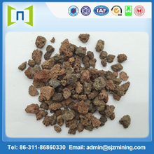 excellent quality natural volcanic stone for barbecue