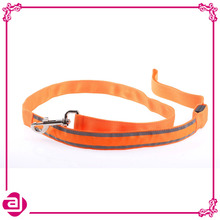 Wholesale unique design hot selling LED braided rope dog collar