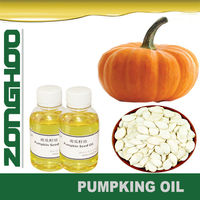 pale yellow pumpkin seed oil in functional cosmetics