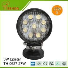 BEST selling led car 27w off road working light spot light 12v led auto parts