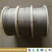 ASTM B863 Titanium Wire in coil or spool with Acid Washed or Polished Finish
