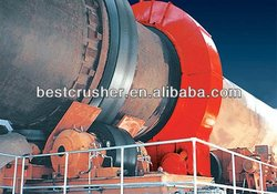 high quality lime/cement rotary kiln with ISO9001:2008