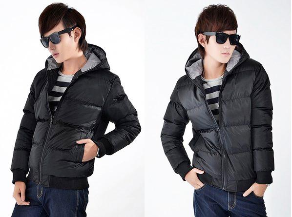 мода мужчины и мальчика спортивные куртки на улице плюс пальто хлопка теплый с капюшоном куртка m-xxxl размер