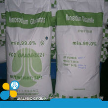 Monosodium Glutamate contain 99%/ 98%/65% JiaLi Chemical/20'FCL or MIX