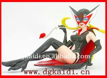 Fashionable promotional gift 3D sexy anime girl figure toy