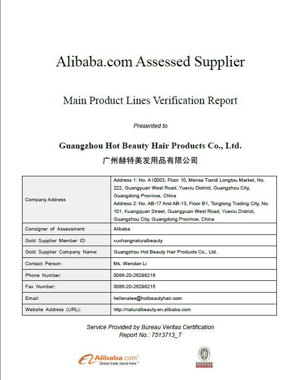 Guangzhou Hot Beauty Hair Products Co., Ltd. - Brazilian Virgin Hair ...