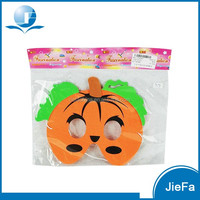 Holloween Kids Party Pumpkin EVA Foam Face Masks