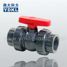High quality compact true union pvc ball valve