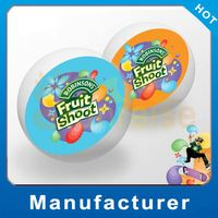 Customized Logo Promotional pvc sheep-horn handle ball Cheap Wholesale