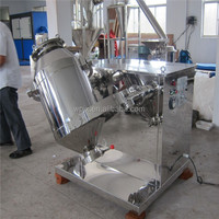 Stainless steel high quality rotating drum mixer