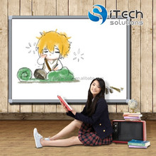 85 inch 10 touch school IR smart classroom interactive whiteboard