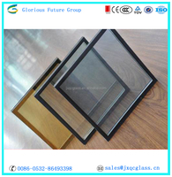 price 6+12A+6 hard coated low-e insulated glass used for windows