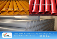st52 seamless steel concrete pump straight pipe 4.0mm thickness