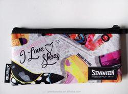 Neoprene Custom Pencil /pen Bag for kids Wholesale Made in China