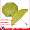 high quality windproof double canopy golf umbrella