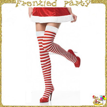 Santa girl wholesale christmas stockings FGH-0126
