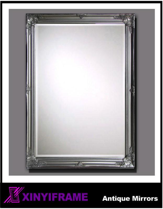 Antiguos de madera enmarcado espejo de pared-Espejos -Identificación ...